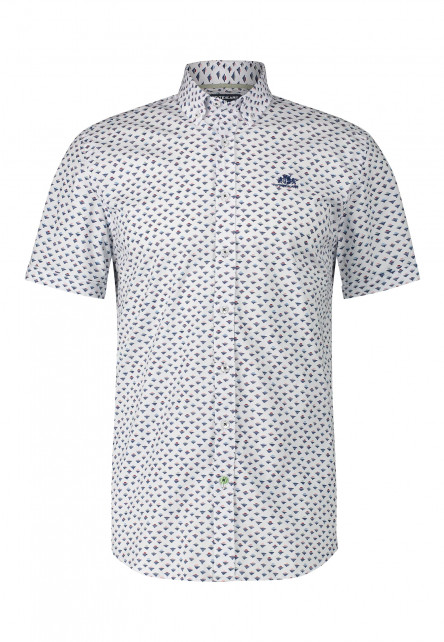 Regular-fit-shirt-with-a-button-down