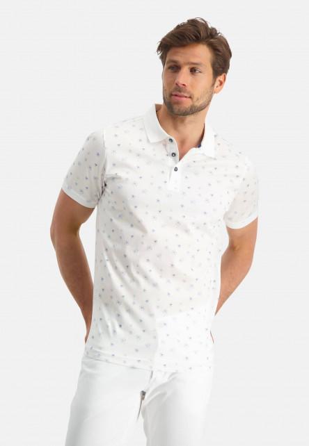 Modern-Classics-Poloshirt,-Minimaldruck