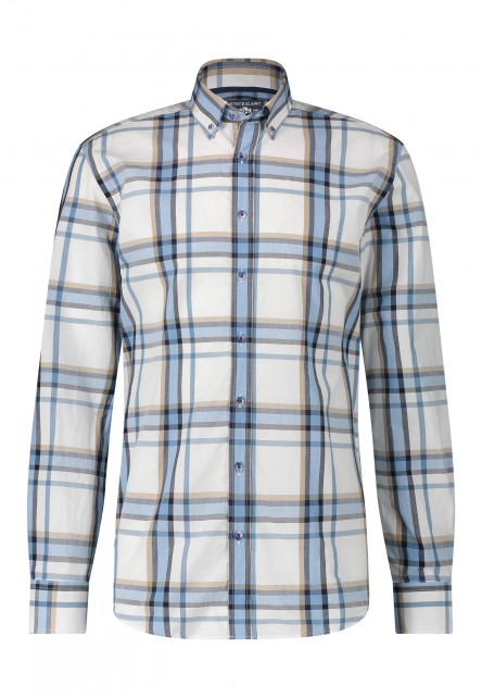 Cotton-shirt-with-a-checked-pattern