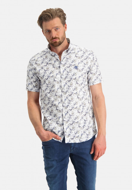 Button-down-shirt-with-a-butterfly-print