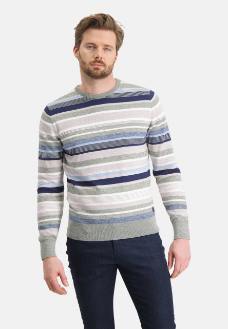Cotton-jumper-with-stripes