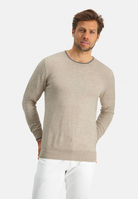 Modern-Classics-Pullover,-Feinstrick