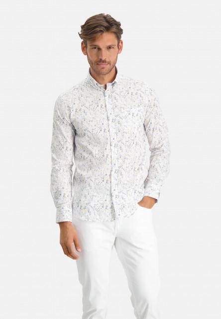 Hemd,-Allover-Druck,-regular-fit