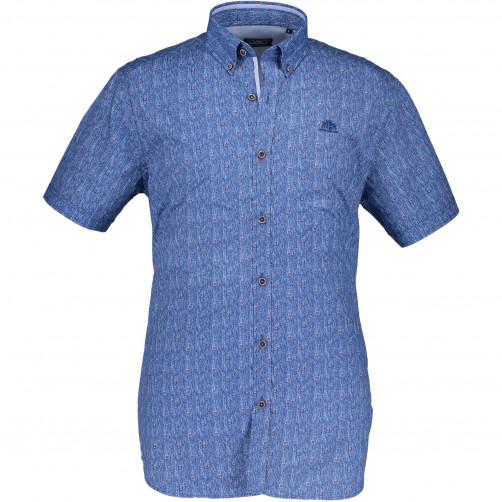 Hemd,-Druck,-Markenlogo