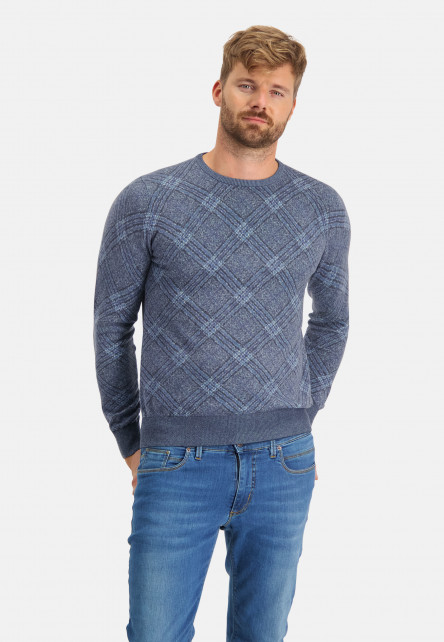 Fancy-pullover-with-crew-neck