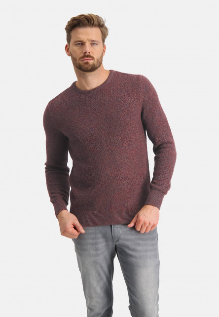 Bouclé-pullover-with-regular-fit