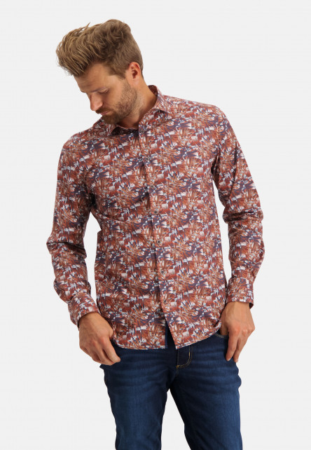 Poplin-shirt-with-botanic-print