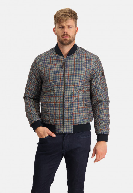 Jacket-with-elasticated-lower-hem