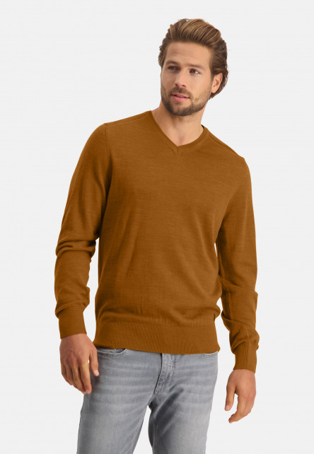 Pullover-made-of-blended-wool