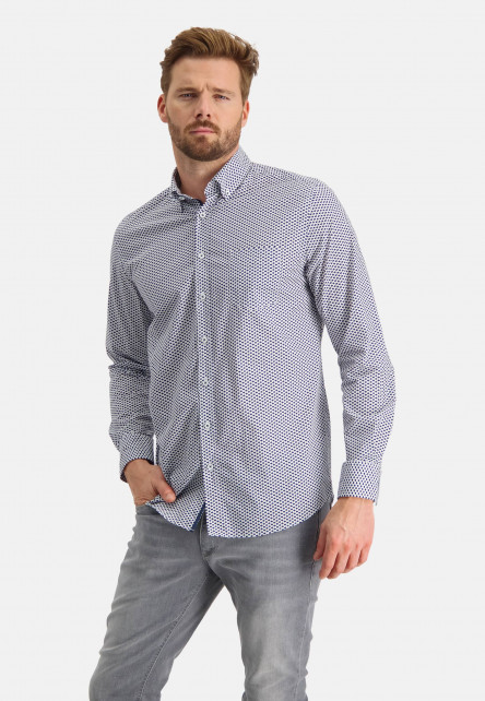 Shirt-with-button-down-collar