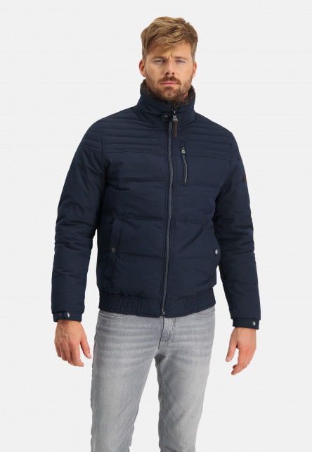 Bomber-jacket-with-artwork-on-sleeve