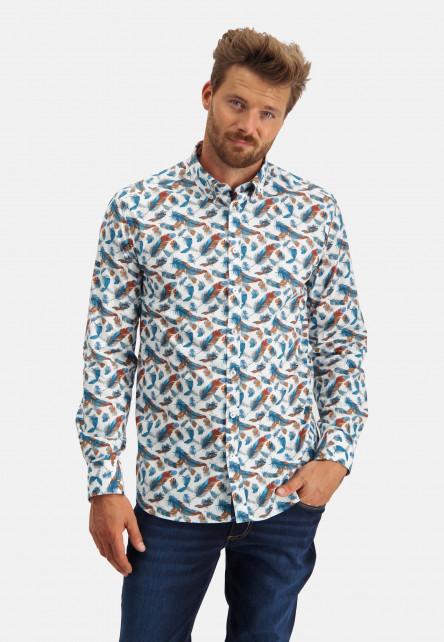Chemise-à-col-boutonné-médium