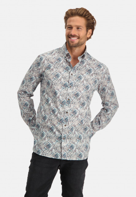 Shirt-with-regular-fit-and-button-closure