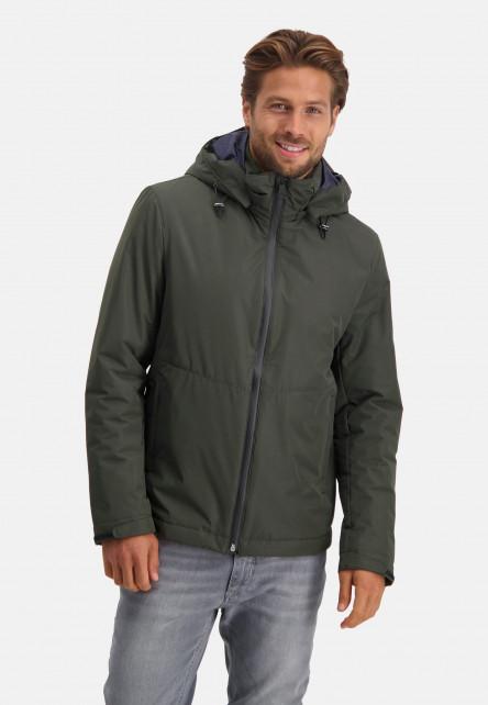 Hooded-jacket-short