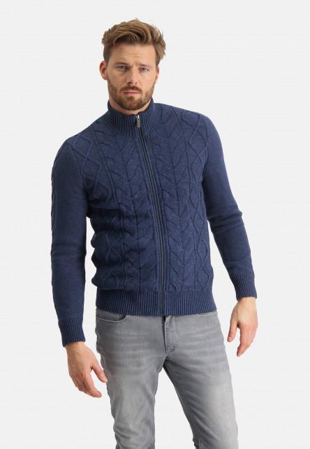 Cardigan-with-high-collar
