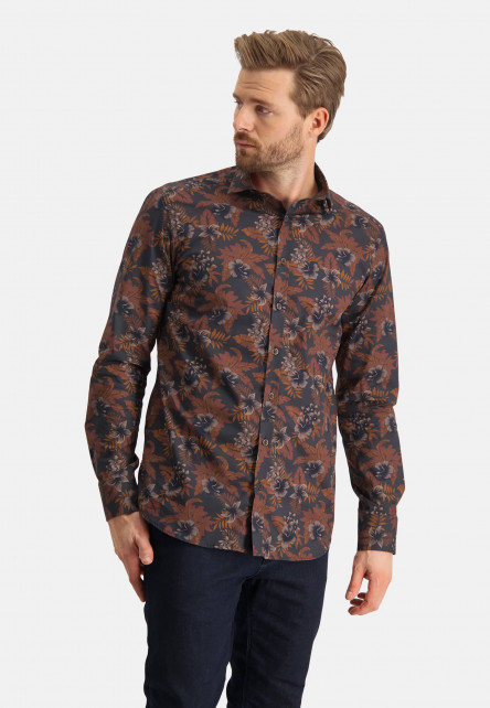 Shirt-with-a-flower-print