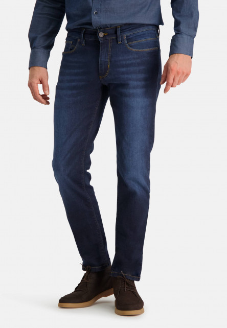 Monza-5-pocket-stretch-jeans-with-regular-fit