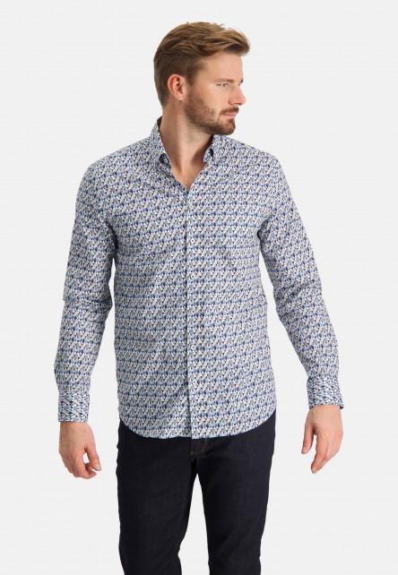 Overhemd-met-print-en-lange-mouwen