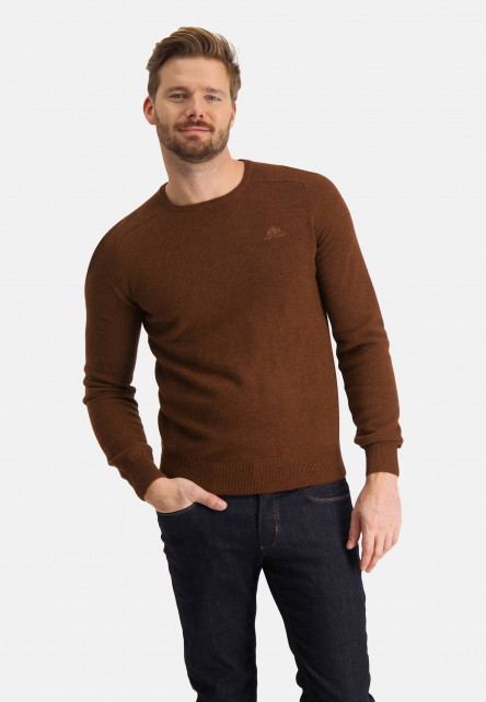 Pullover-with-crew-neck-and-regular-fit