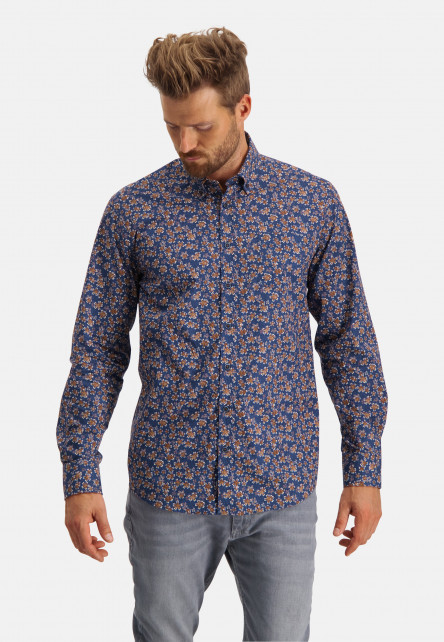 Printed-shirt-with-flowers