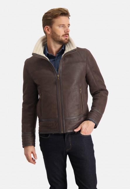 Short-leather-jacket