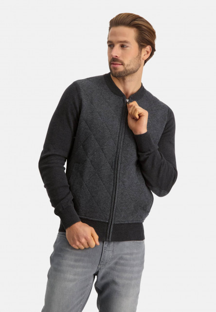 Cardigan-with-elbow-patches