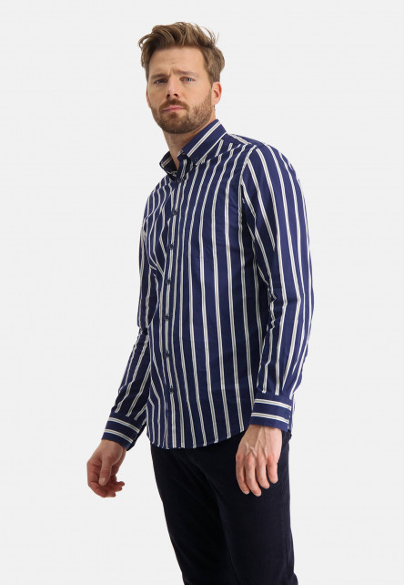 Cotton-shirt-with-stripes