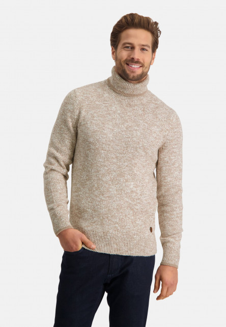 Pullover-with-turtle-neck
