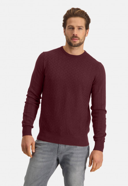 Structure-knit-pullover-with-a-regular-fit