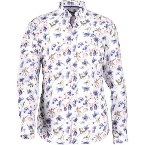 Regular-fit-shirt-with-a-floral-print