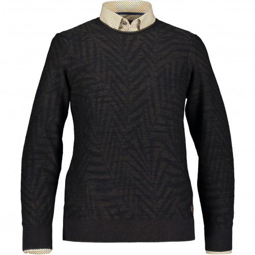 Pullover-made-of-blended-merino-wool