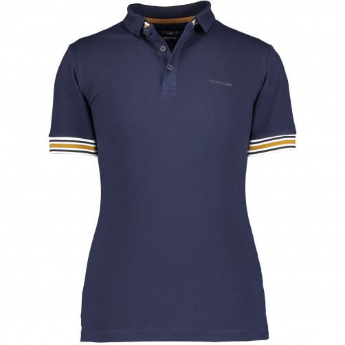 Poloshirt-pique-with-short-sleeve