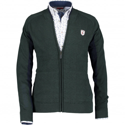 Racing-cardigan-made-of-cotton