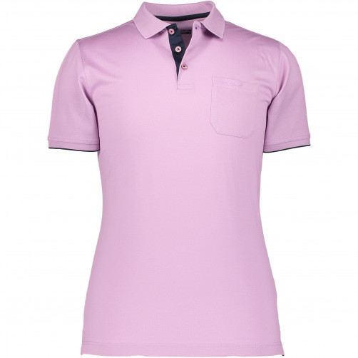 Poloshirt-made-of-mercerized-cotton