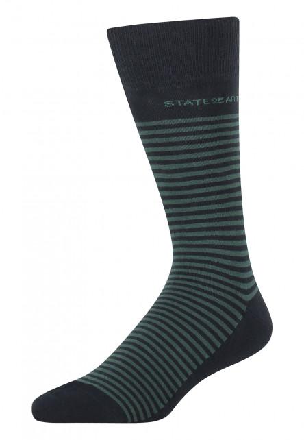 Striped-socks-made-of-blended-cotton