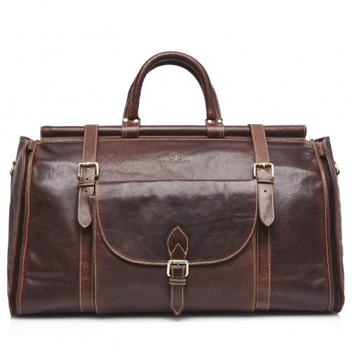 Weekend-Bag-of-Buffalo-Leather