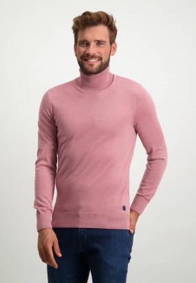 Coltrui-van-een-wol-mix---oud-roze-uni