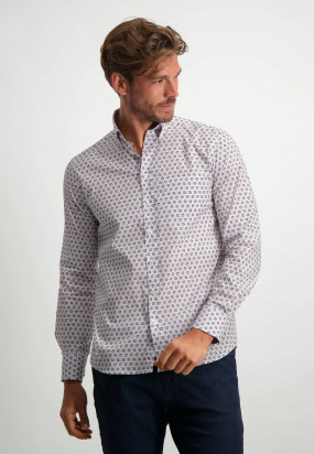 Poplin-shirt-with-all-over-print---dusty-pink/sepia