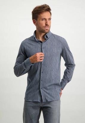 Jersey-shirt-in-100%-cotton---silver-grey/midnight