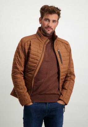 Regular-fit-short-jacket---mango-plain