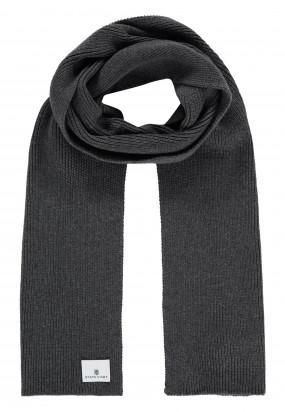 Solid-scarf---dark-anthracite-plain