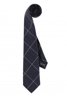 Cravate-à-carreaux-Modern-Classics---blue-foncé/blanc-cassé