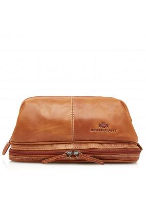 Vanity-Bag-of-Buffalo-Leather---cognac-plain