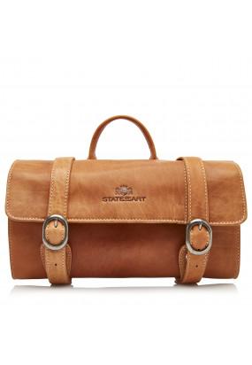 Toilet-Bag-of-Buffalo-Leather---cognac-plain