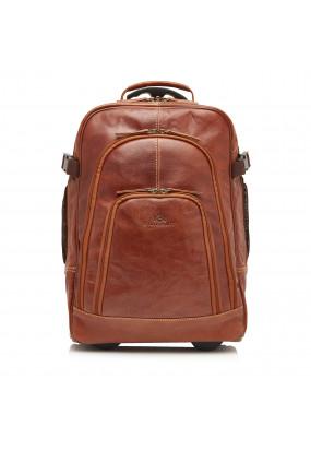 Back-Pack-Trolley-of-Buffalo-Leather---cognac-plain