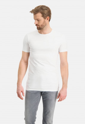 T-shirt-met-ronde-hals-extra-lang---wit-uni