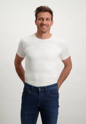 Regular-Fit-T-shirt-(set-van-twee)---wit-uni