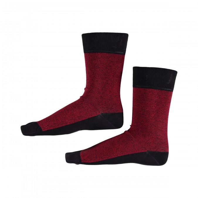 Socks-Striped---dark-blue/red