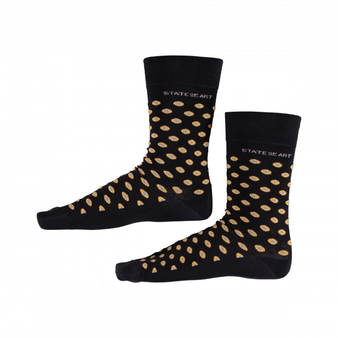 Socks-with-Print-and-Stretch---midnight/goldyellow