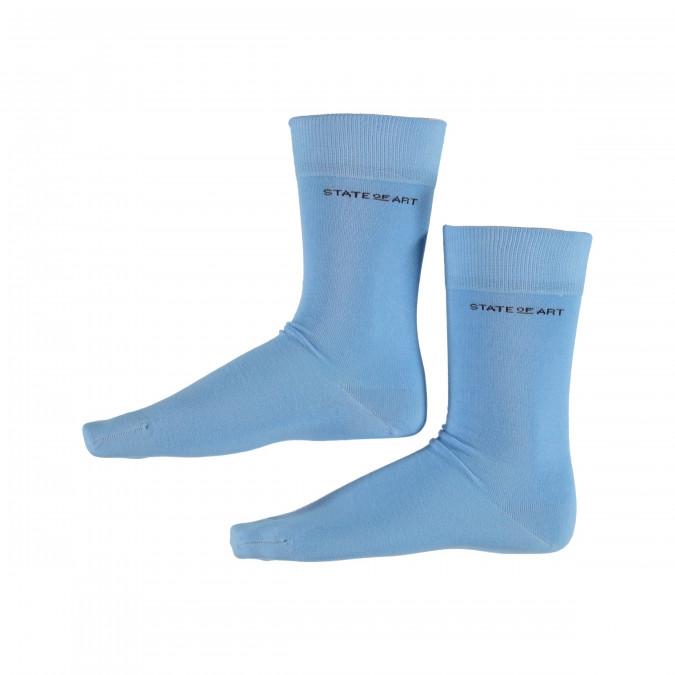 Socks-Plain---ice-blue-plain